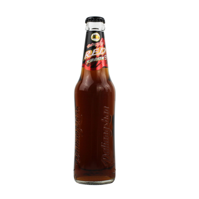 Custom 330ml Amber Glass Bottle for Beer