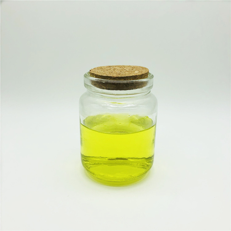 New 250ml glass honey mason jar/bottle with cork stopper and spoon