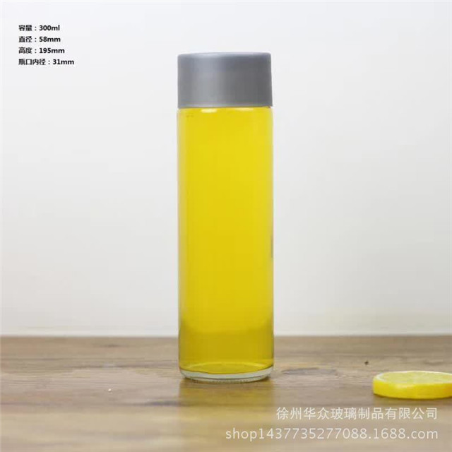 All size 250ml 300ml 350ml 375ml 400ml 500ml 800ml voss bottle glass for water juice