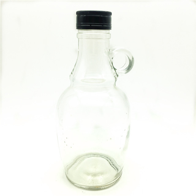 High quality 500ml California Red Wine Bottleglass bottle for wine with small handle