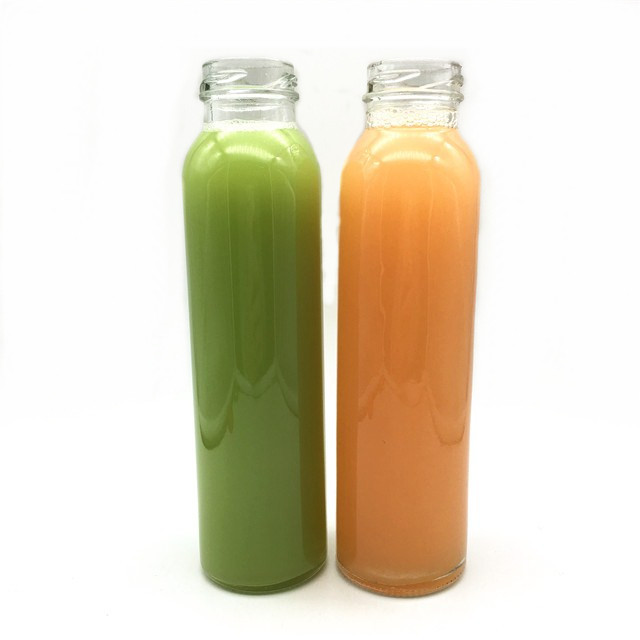 fashion and beautiful round wholesale cheap drinking glass beverage bottle for juice,water,milk tea